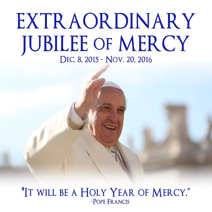 year of mercy logo pope