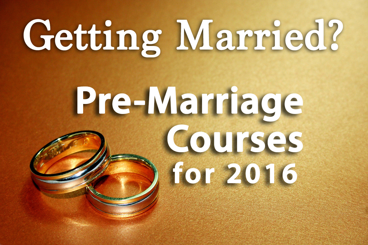 PreMarriage Course 2016