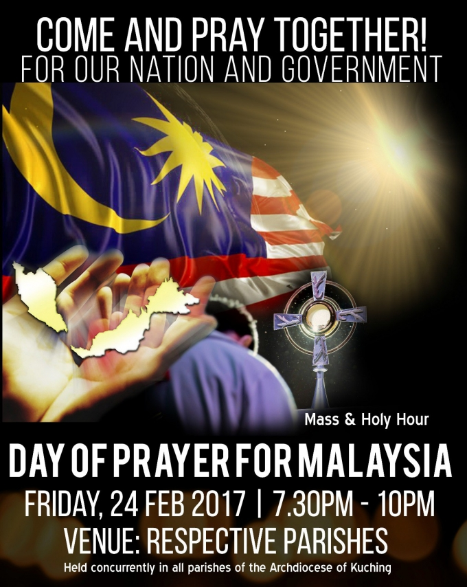 Day of prayer for Msia 17